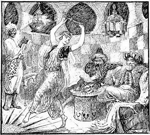 «Тысяча и одна ночь», иллюстрации Генри Форда (Henry Justice Ford) 1890 года