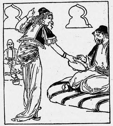 «Тысяча и одна ночь», иллюстрация 1896 года