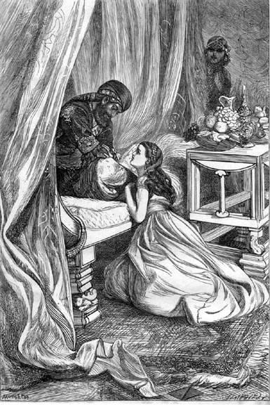 «Тысяча и одна ночь», иллюстрация Arthur Boyd Houghton 1870 года