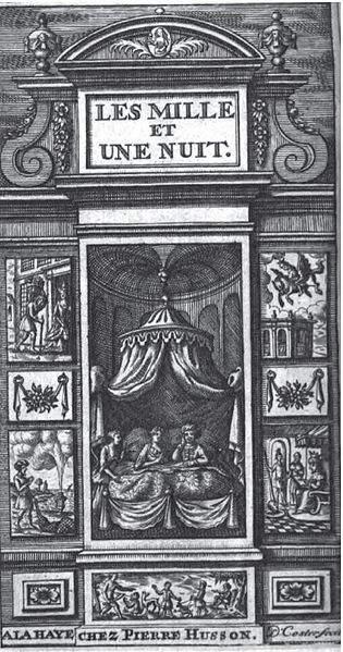 «Тысяча и одна ночь», иллюстрация Дэвида Костера 1706 года