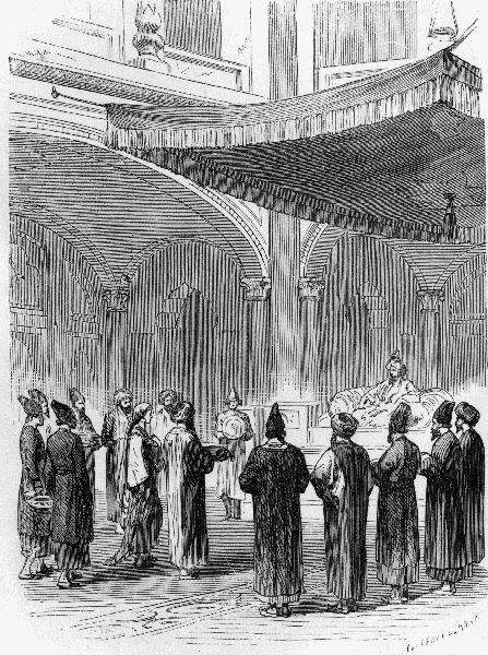 «Тысяча и одна ночь», иллюстрация Годфрея Дуранда (Godefroy Durand) 1874 года
