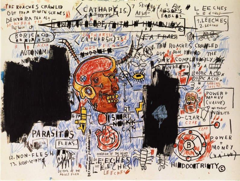 Уличное искусство Жан-Мишель Баския (Jean-Michel Basquiat) 10