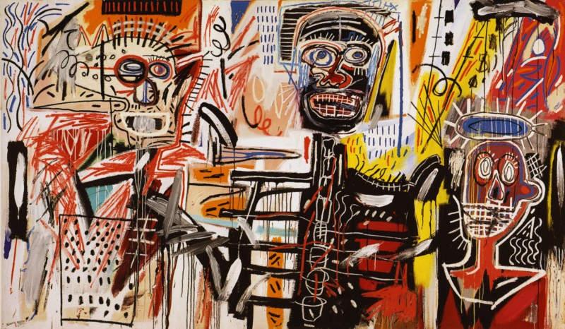 Уличное искусство Жан-Мишель Баския (Jean-Michel Basquiat) 11