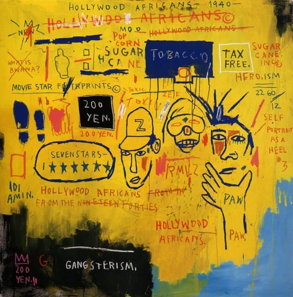 Уличное искусство Жан-Мишель Баския (Jean-Michel Basquiat) 4