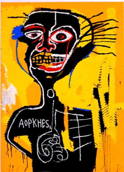 Уличное искусство Жан-Мишель Баския (Jean-Michel Basquiat) 7