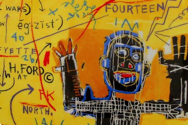 Уличное искусство Жан-Мишелm Баския (Jean-Michel Basquiat) 2