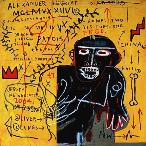 Уличное искусство Жан-Мишелm Баския (Jean-Michel Basquiat)