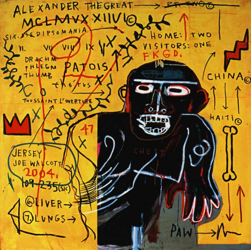 Уличное искусство Жана-Мишеля Баския (Jean-Michel Basquiat)
