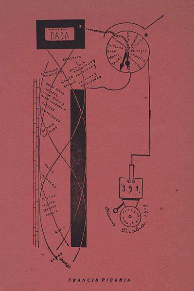 Франсис Пикабиа (Francis Picabia) и французский дадаизм 15