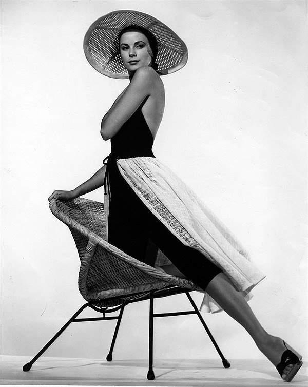 История в фотографиях (1954 - 1957) Грейс Келли, 1955 год
