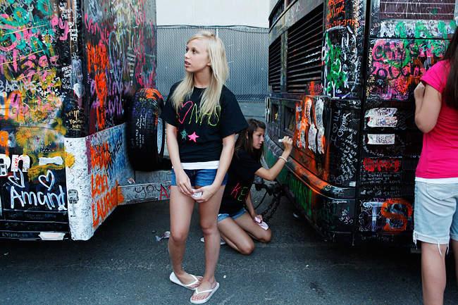 Rachel Papo и фотопроект Фанатки 6