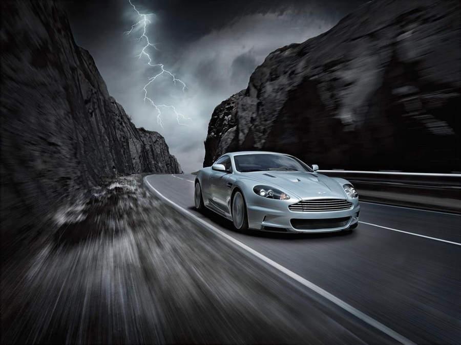 Самые мощные автомобили Aston Martin Vanquish