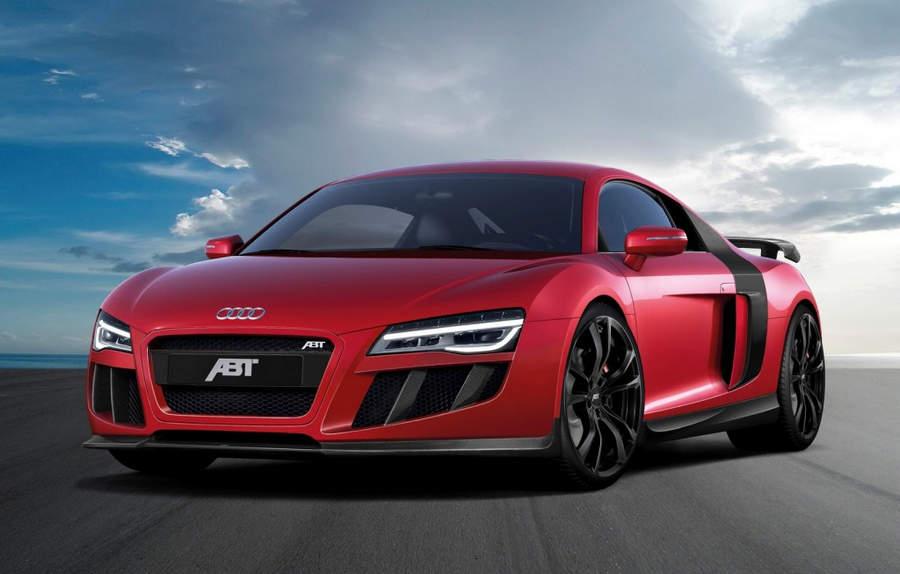 Самые мощные автомобили Audi R8