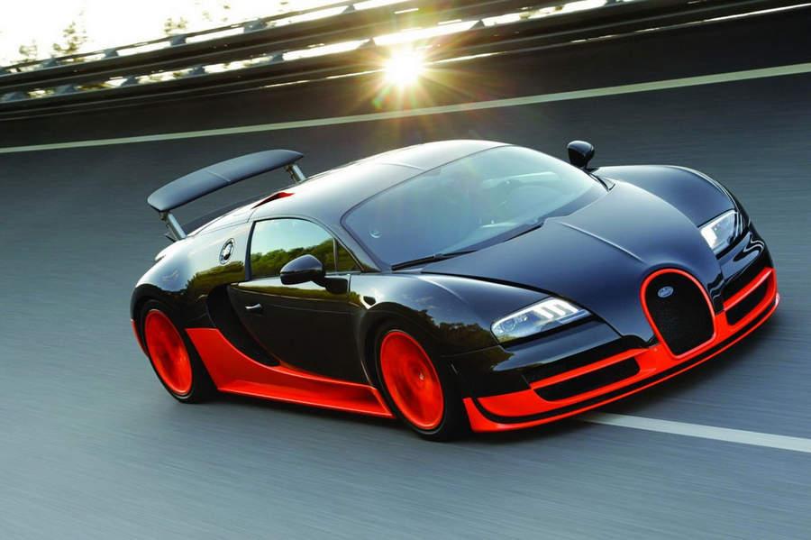 Самые мощные автомобили Bugatti Veyron