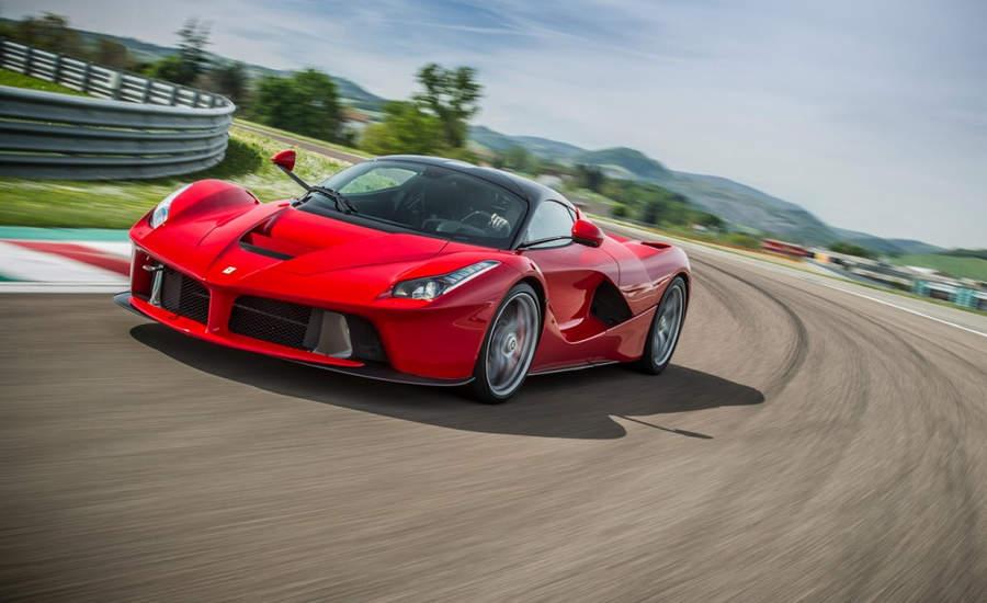 Самые мощные автомобили  Ferrari LaFerrari