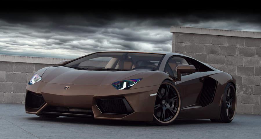 Самые мощные автомобили Lamborghini Aventador