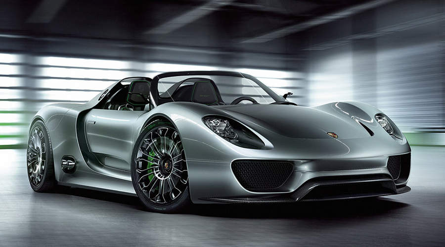 Самые мощные автомобили Porsche 918 Spyder