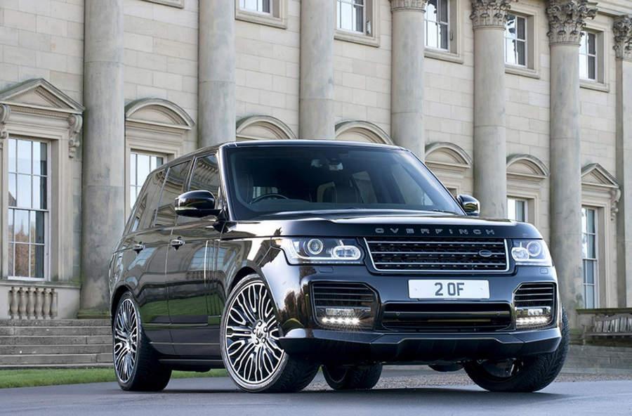 Самые мощные автомобили Range Rover Overfinch