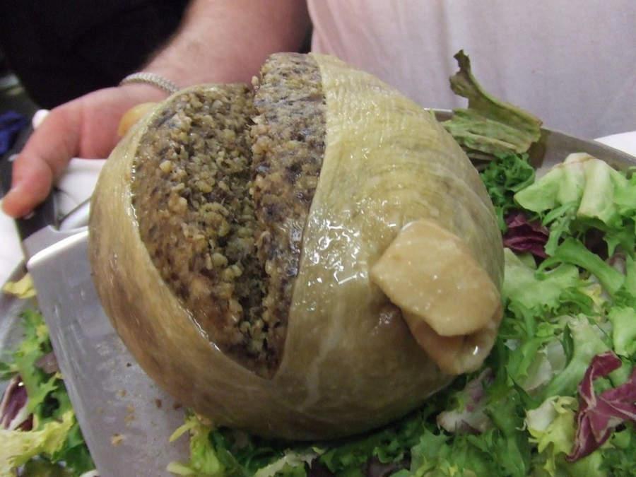 Самые необычные блюда Хаггис