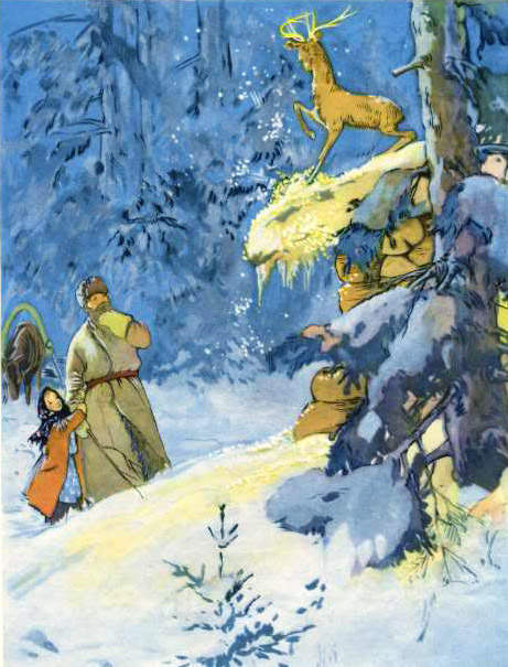Сказки Павла Бажова в иллюстрациях 1960