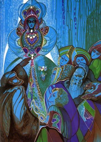 Сказки Павла Бажова в иллюстрациях 1978