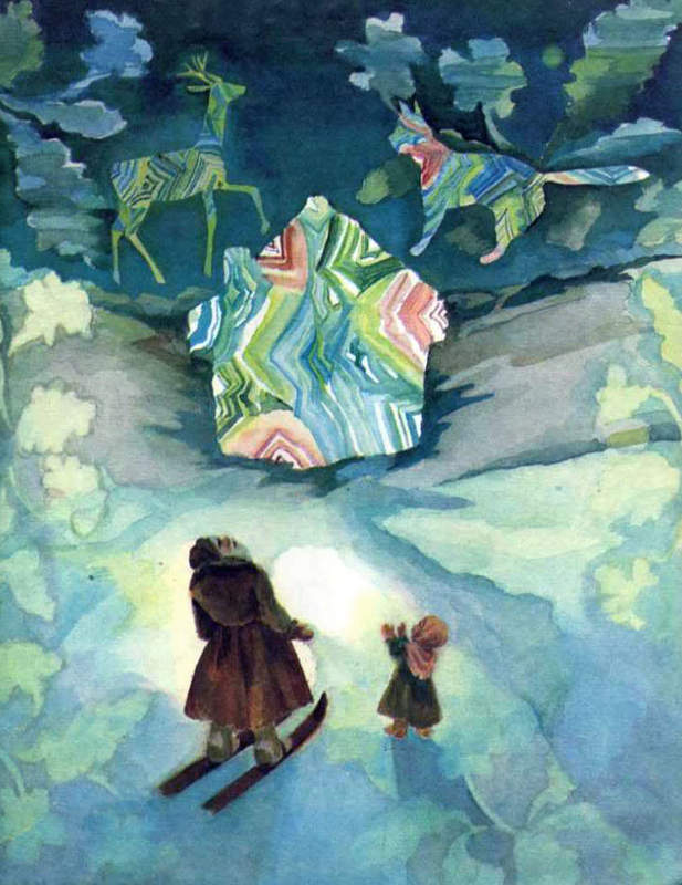 Сказки Павла Бажова в иллюстрациях 1980
