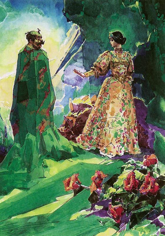 Сказки Павла Бажова в иллюстрациях 2004