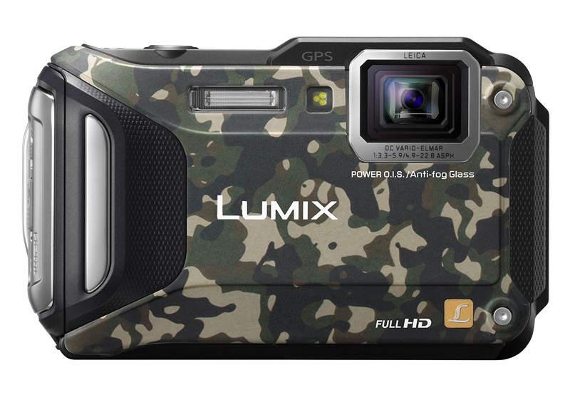 Ударопрочный фотоаппарат Panasonic LUMIX DMC-TS6 (TS6)
