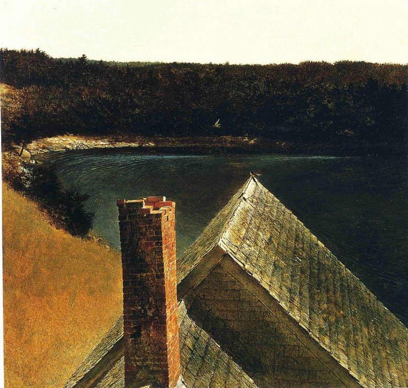 Эндрю Уайет (Andrew Wyeth) и американский реализм 20-го века 10