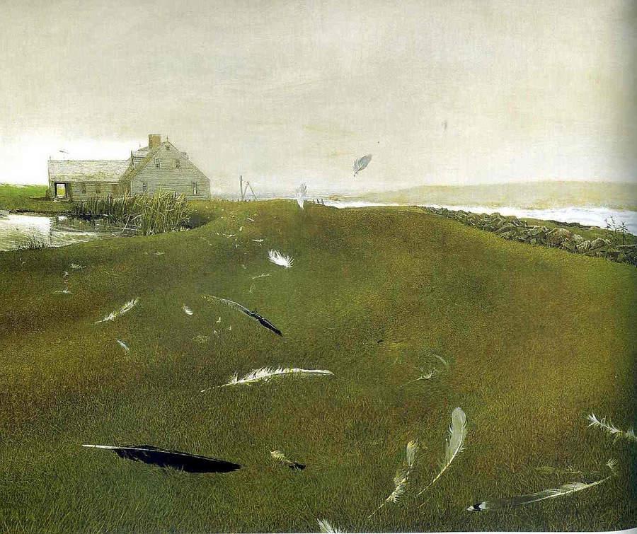 Эндрю Уайет (Andrew Wyeth) и американский реализм 20-го века 11