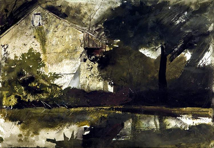 Эндрю Уайет (Andrew Wyeth) и американский реализм 20-го века 12