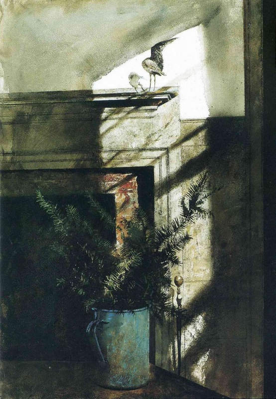 Эндрю Уайет (Andrew Wyeth) и американский реализм 20-го века 15