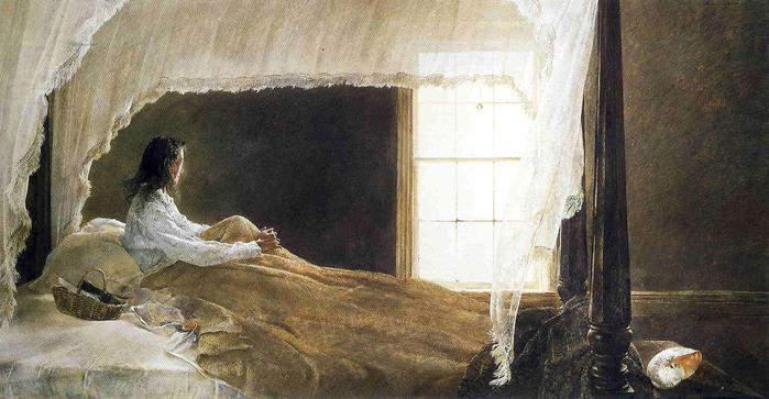 Эндрю Уайет (Andrew Wyeth) и американский реализм 20-го века 16