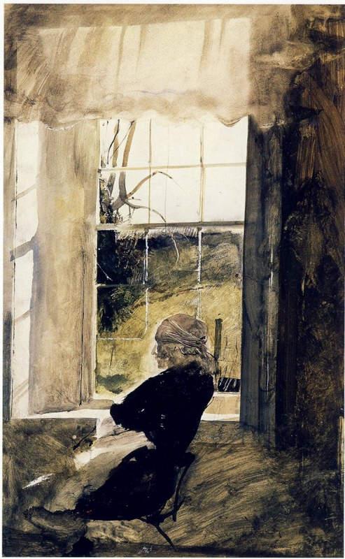 Эндрю Уайет (Andrew Wyeth) и американский реализм 20-го века 17