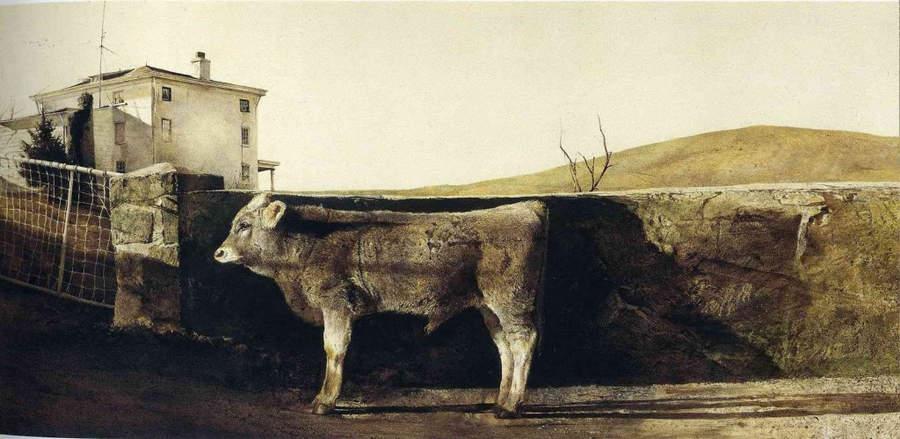 Эндрю Уайет (Andrew Wyeth) и американский реализм 20-го века 19