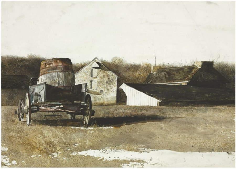 Эндрю Уайет (Andrew Wyeth) и американский реализм 20-го века 20