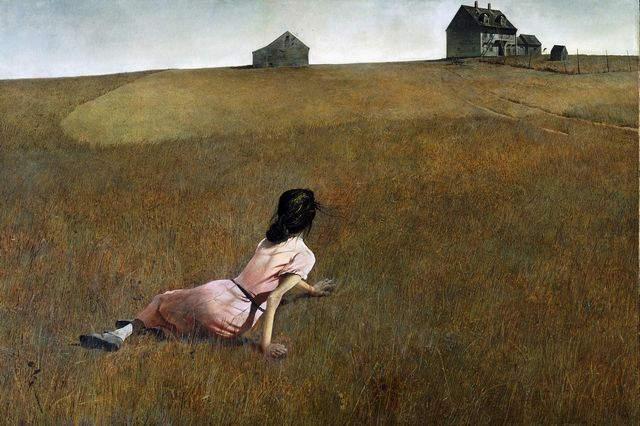 Эндрю Уайет (Andrew Wyeth) и американский реализм 20-го века 3