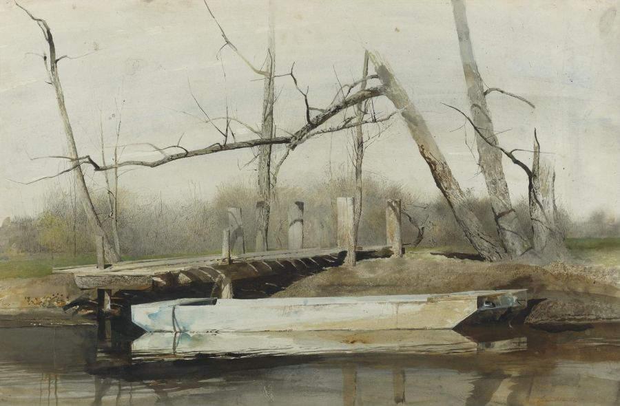 Эндрю Уайет (Andrew Wyeth) и американский реализм 20-го века 5
