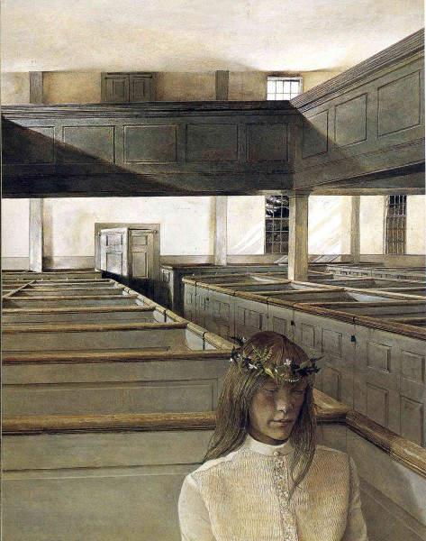 Эндрю Уайет (Andrew Wyeth) и американский реализм 20-го века 8