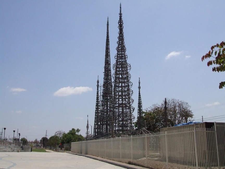 Башни Уоттс (Watts Tower) 10 самых невероятных строений, созданных одним человеком