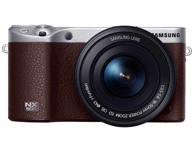 Беззеркальный фотоаппарат Samsung NX500