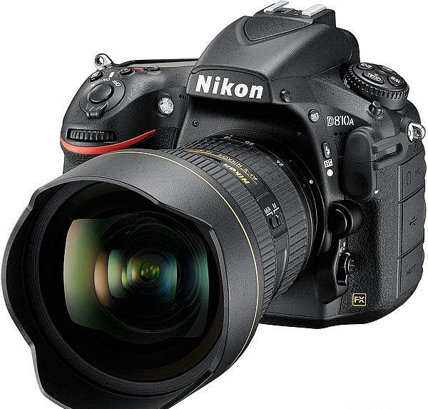 Nikon D810A первый полнокадровый фотоаппарат для астрофотографии