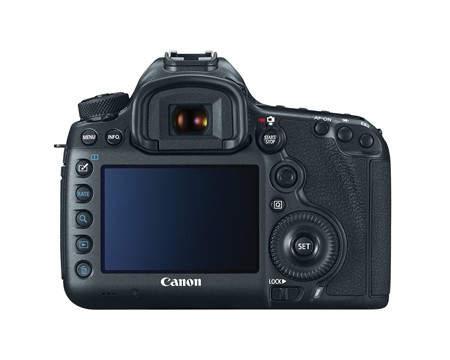 Canon EOS 5DS R и Canon EOS 5DS  оснащены дисплеем с диагональю 3,2 дюйма