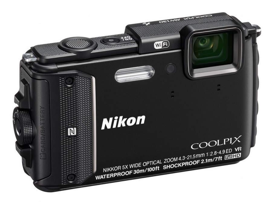 Прочные фотоаппараты Nikon Coolpix AW130 и Nikon Coolpix S33
