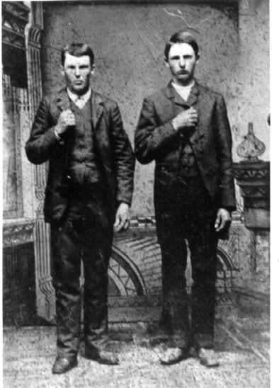 Самые известные криминальные дуэты Топ-10 Фрэнк и Джесси Джеймс (Frank and Jesse James)