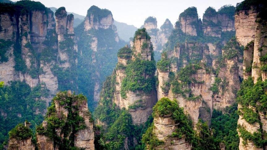 10 самых фантастических мест на Земле Тианзи - провинция Хунань, Китай