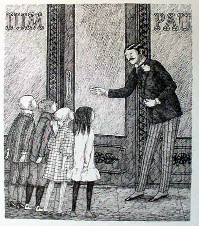 Эдвард Гори и его черно-белый мир (Edward St. John Gorey) 10