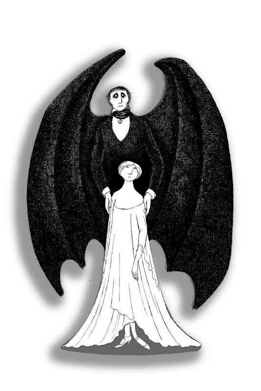 Эдвард Гори и его черно-белый мир (Edward St. John Gorey) 11