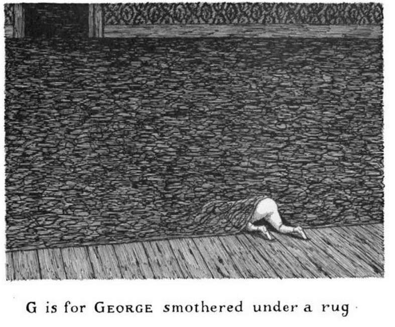 Эдвард Гори и его черно-белый мир (Edward St. John Gorey) 12