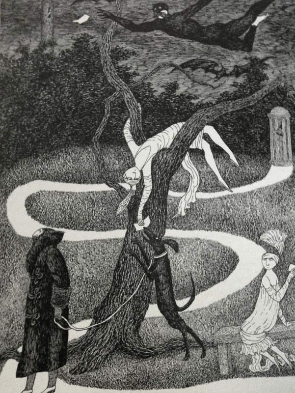 Эдвард Гори и его черно-белый мир (Edward St. John Gorey) 16